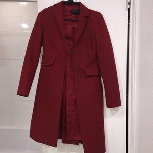 BCBG red coat